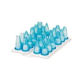 NOZZLE SET POLYCARBONATE ASSORTED - 24 PIECE NSP0024 | NOZZLE SET POLYCARBONATE | wedoall.co.za