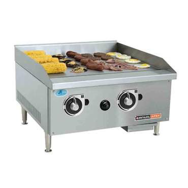 600mm Flat Top Gas Griller FTG0600 | 600mm Flat Top Gas Griller Table Top | wedoall.co.za