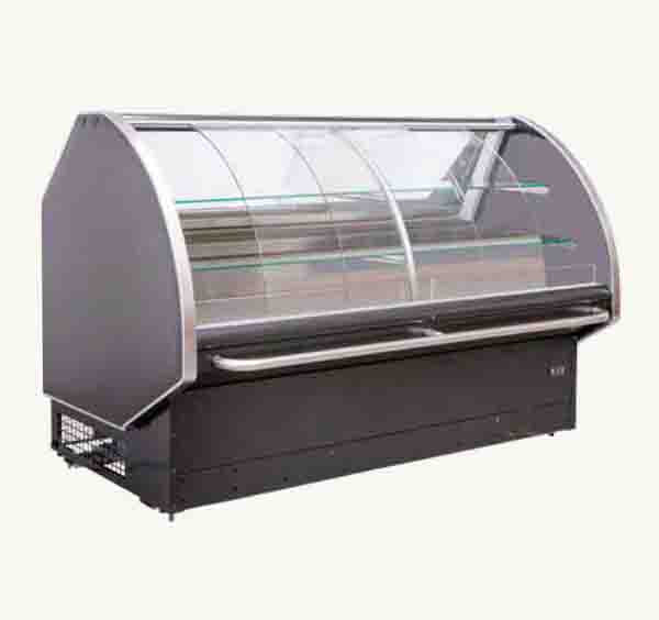 Curved Glass 2.4 Deli Chiller CGD2440SC | Curved Glass chiller | wedoall.co.za