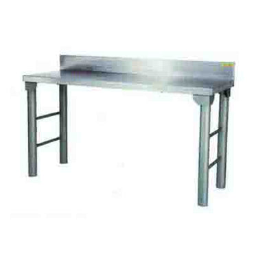 Heavy Duty Table 2300mm 1.2 mm 430 S/S WIth Mild Steel Legs Titan SDTA1013O7 | Heavy Duty Table | wedoall.co.za