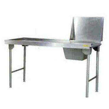 Inlet Table 2300mm 0.9 mm 430 S/S With Mild Steel Legs Titan SDTA1028O7 | inlet table | wedoall.co.za