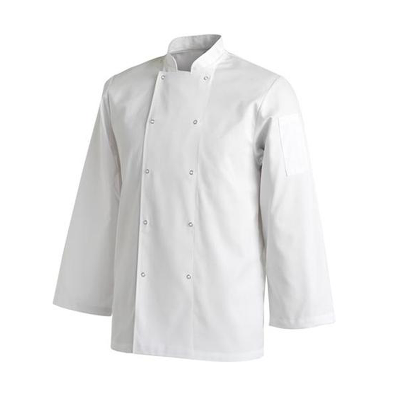 Chefs Uniform Jacket Laundry Coat Long - Small UNI0031