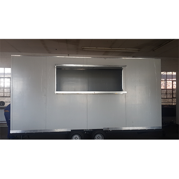 Mobile Kitchen Double Axle Non Braked 4m x 2m x 2m B2 MKDACU4M | Mobile Kitchen | wedoall.co.za