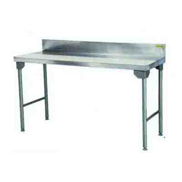 Nylon Cutting Board Table 2300mm 0.9 mm 430 S/S With Mild Steel Legs Titan  SDTA1025O7 | Nylon Cutting Board Table | wedoall.co.za
