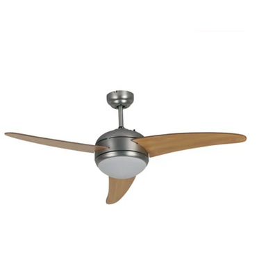 "52"" 3 Blade 1 Light Ceiling Fan With Remote GCF-2012R"