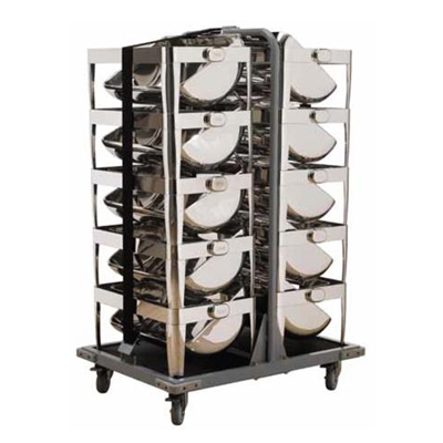 Chafer Dish Stacking Trolley CST1001 | Chafer Dish Stacking Trolley | wedoall.co.za