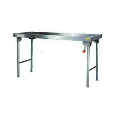 Sausage Table 2300mm 0.9 mm 430 S/S With Mild Steel Legs Titan SDTA1019O7 | Sausage Table | wedoall.co.za