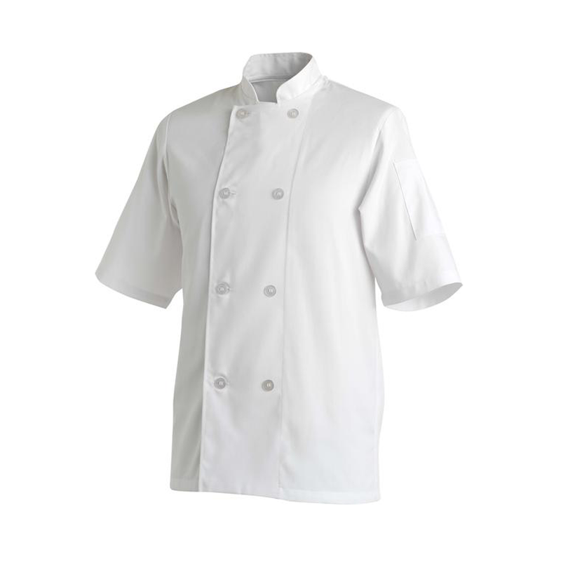 Chefs Uniform Jacket Basic Short - Large UNI1023