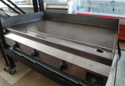 Flat Top Elec Griller 900mm Table Model (used) SH013/2019/02 | flat top griller | wedoall.co.za