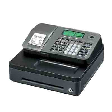 Cash Register (various colours) CASIO SE-S100SG | cash register | wedoall.co.za