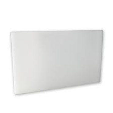 CUTTING BOARD PE - 500 X 380 X 13MM - (WHITE) CBP0500