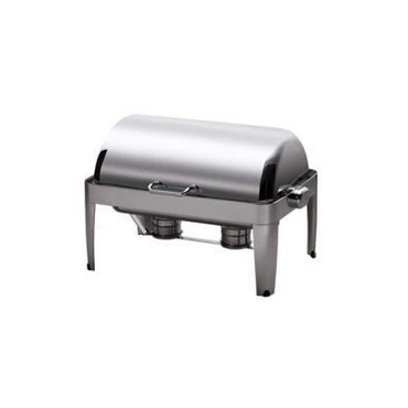 CHAFING DISH IBIS RECTANGULAR ROLL TOP 18/10 S/STEEL 667 x 485 x 452mm 8Lt CDI0008 | wedoall-co-za.myshopify.com