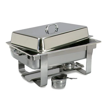 CHAFING DISH STAINLESS STEEL-POLISHED (RECTANGULAR) 7.5Lt CDS0001
