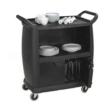 BUSSING AND TRANSPORT CART BLACK - SMALL 965 x 457 x 920mm - 20kg TRC3200 | wedoall-co-za.myshopify.com
