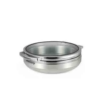T-COLLECTION INDUCTION CHAFING DISH (ROUND) S/STEEL BAND 6.5Lt CIR3065