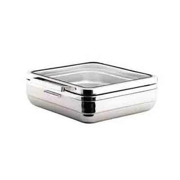 T-COLLECTION INDUCTION CHAFING DISH (SQUARE) STEEL BAND 5.5Lt CIS3055