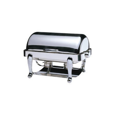 CHAFING DISH EURI RECTANGULAR ROLL TOP 18/10 S/STEEL 667 x 488 x 452mm 8Lt CDE0008 | wedoall-co-za.myshopify.com