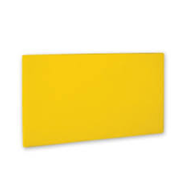 Cutting Board PE - 255 X 405 X 10MM - (Yellow) CBP5255