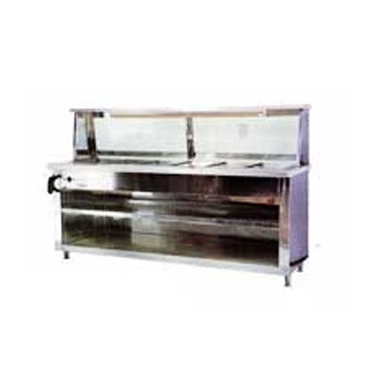 6 Division Bain Marie & Sneeze Guard BNMR9010O7 | 6 Division Bain Marie & Sneeze Guard ECONO | wedoall.co.za