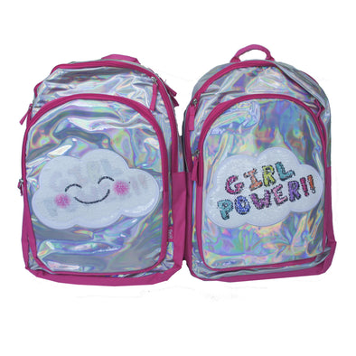 GIRL POWER HOLOGRAM BACKPACK