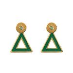 Triangle Dimensiones Collection Small Earrings