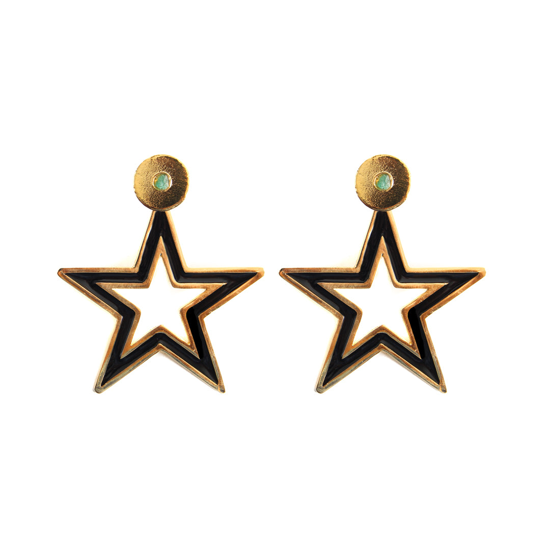 Star Dimensiones Collection Big Earrings