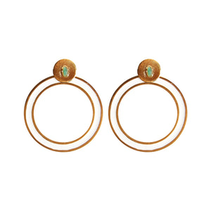 Circle Dimensiones Collection Big Earrings