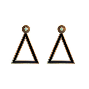 Triangle Dimensiones Collection Big Earrings