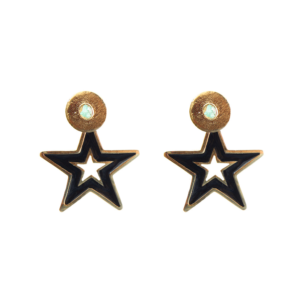 Star Dimensiones Collection Small Earrings