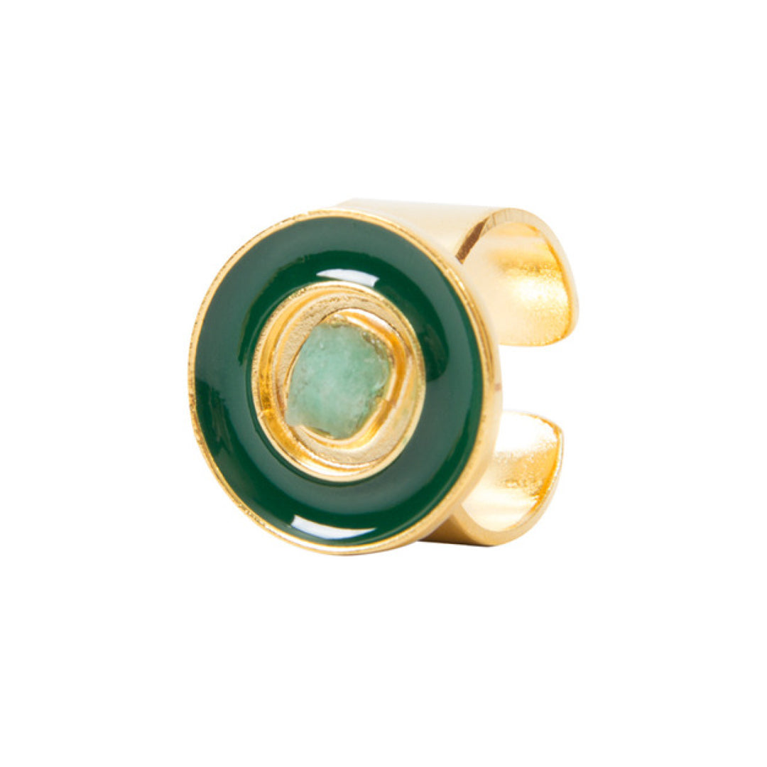 Green Nature Power Fiore Collection Ring - TAO Company Jewelry by Vanessa Arcila