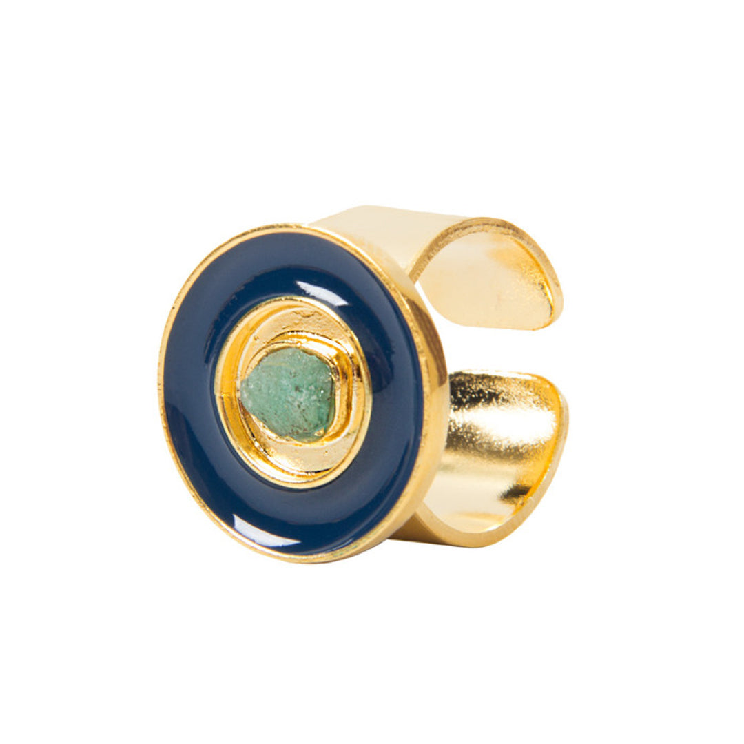 Blue Nature Power Fiore Collection Ring - TAO Company Jewelry by Vanessa Arcila