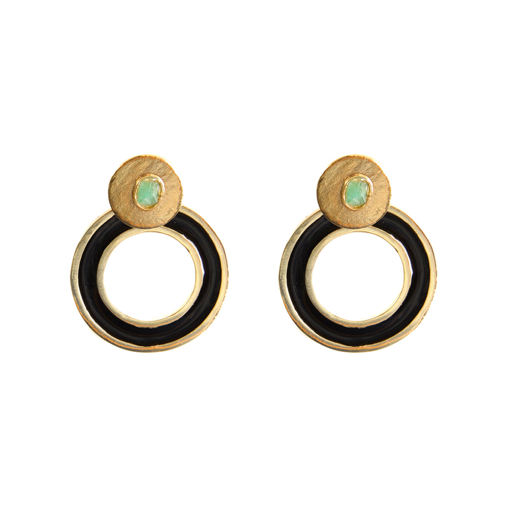 Circle Dimensiones Collection Small Earrings