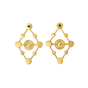 Amalia Sefirot Collection 2 In 1 XL Earrings - TAO Company Jewelry