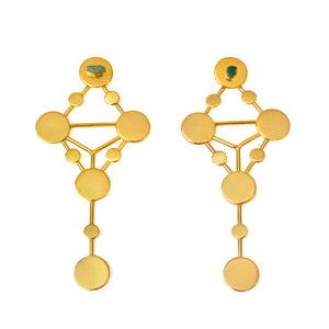 Luciana Sefirot Collection 2 In 1 XL Earrings - TAO Company Jewelry