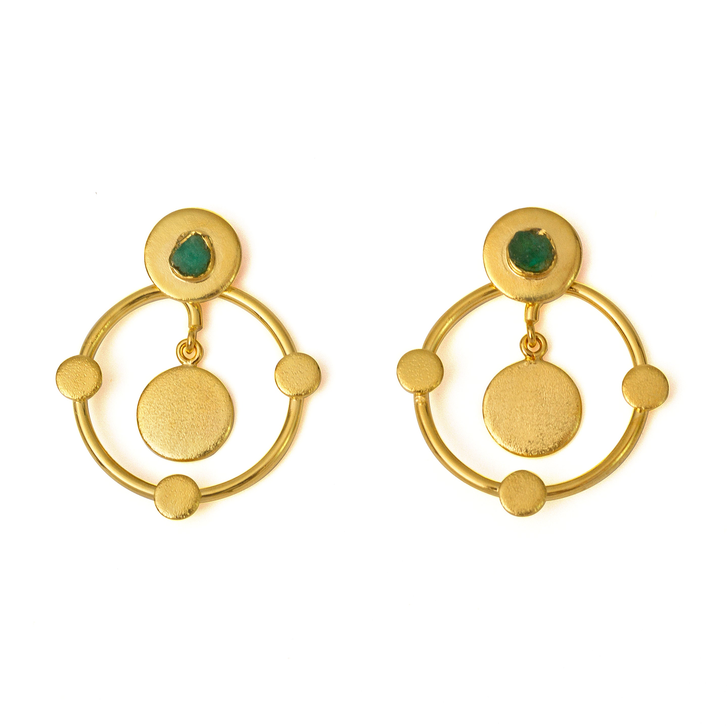 Katia Sefirot Collection 2 In 1 XL Earrings - TAO Company Jewelry
