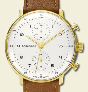 Max Bill Chronoscope Watch (MB-7800) by Junghans Watches