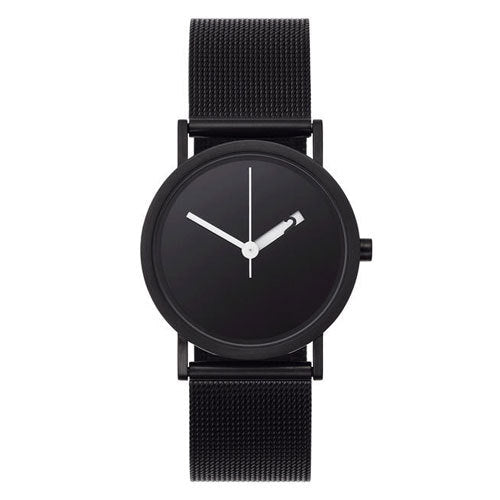 Extra Normal Watch Mesh Series - Black