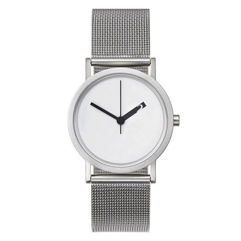 Extra Normal Watch Mesh Series - White
