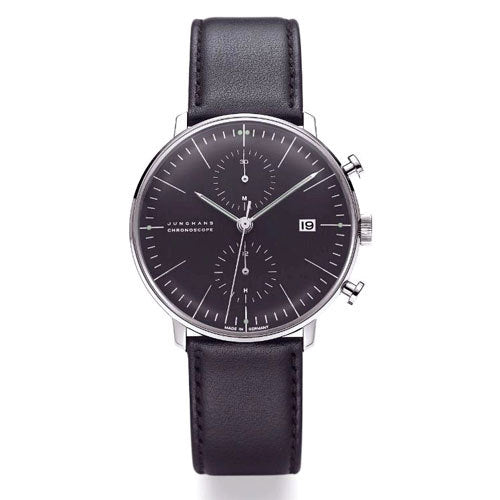Max Bill Chronoscope Watch (MB-4601) by Junghans Watches