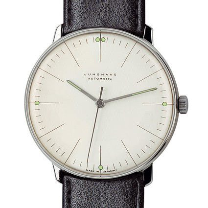 Max Bill Watch Automatic (MB-3501) with Lines by Junghans Watches