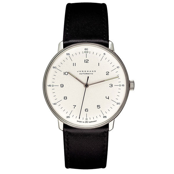 max bill watch automatic mb 3500 with number by junghans watches junro. Black Bedroom Furniture Sets. Home Design Ideas