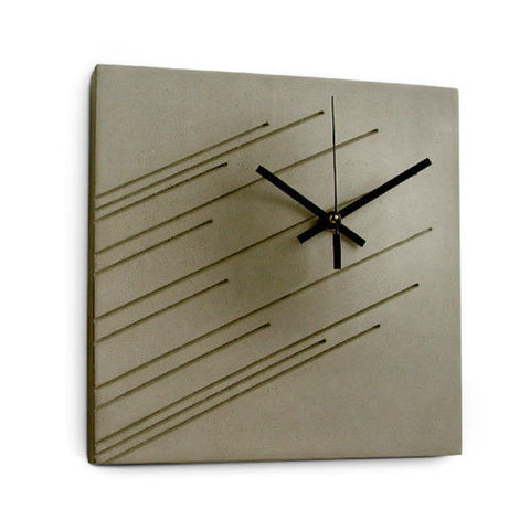 Imprint Wall Clock by Marit Meisler