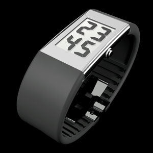 Rosendahl Watch II Digital Large Stainless Steel