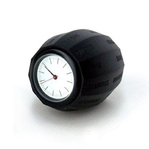 World Time Clock - Black