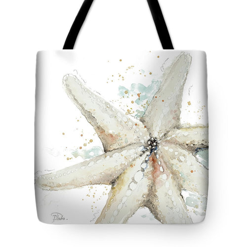 Water Starfish Tote Bag