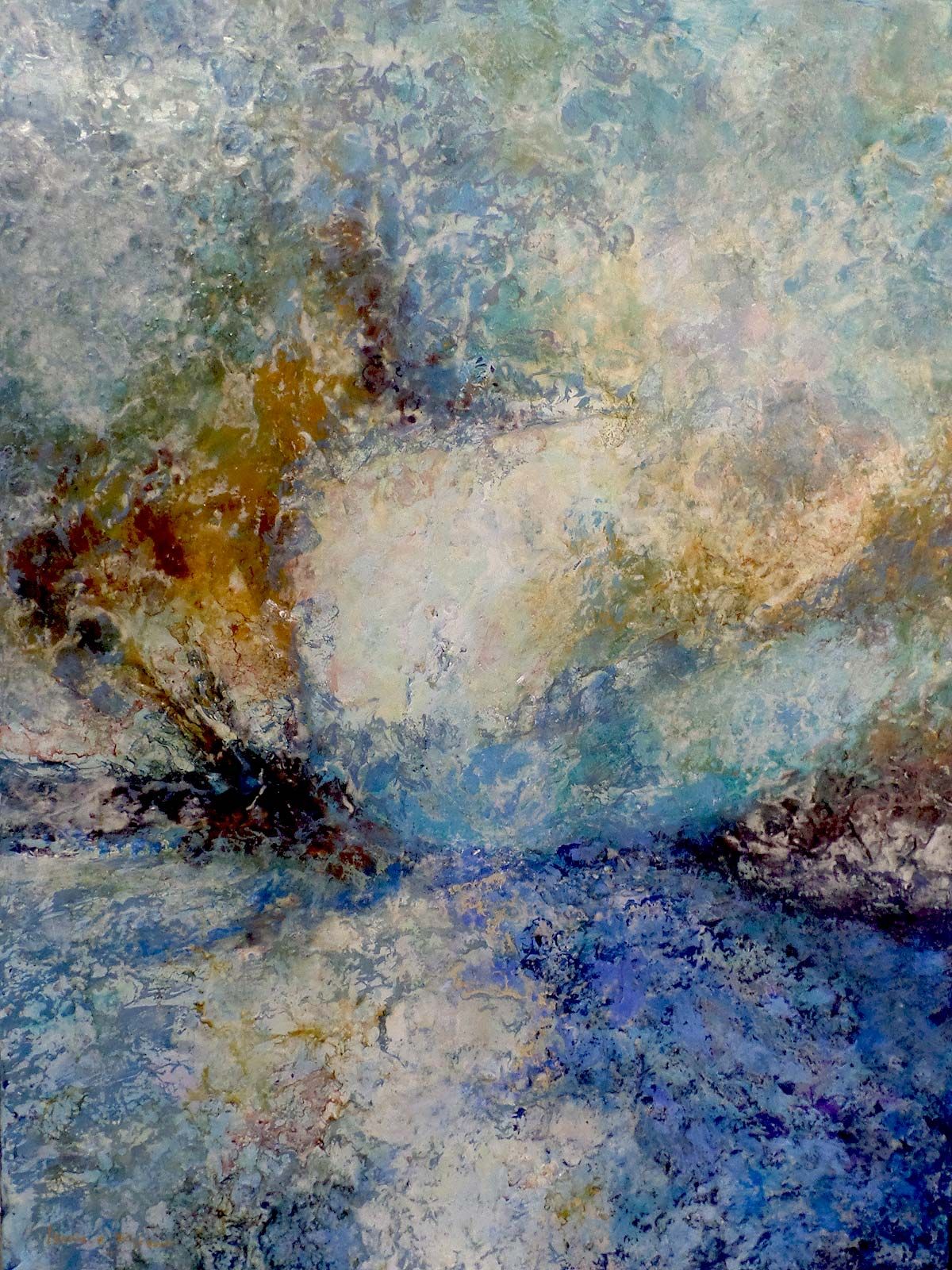 Be Still and Wait Through the Storm - Leonie.e.Brown Artist
