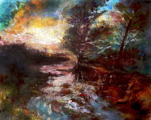 Light Shines in the Darkness - Leonie.e.Brown Artist