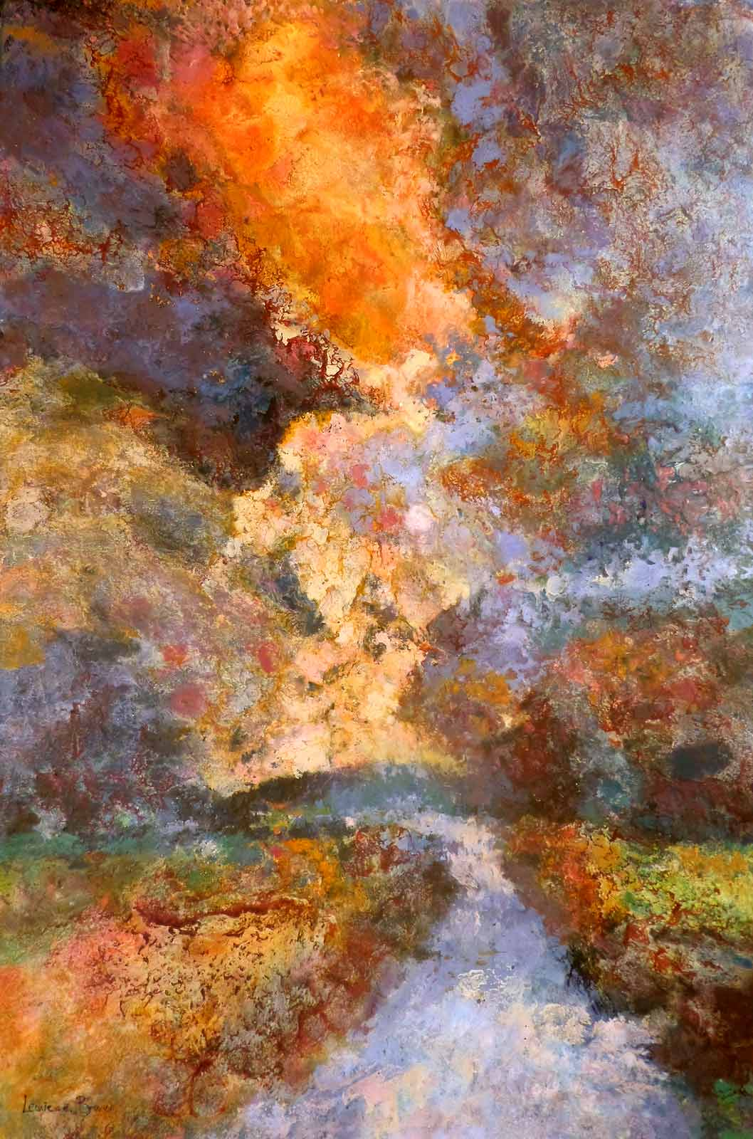 You Fill Up the Sky with Endless Grace - Leonie.e.Brown Artist