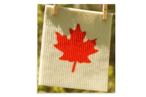 Swedish Sponge Cloths - Maple Leaf