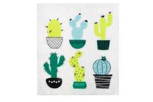 Swedish Sponge Cloths - Cactus